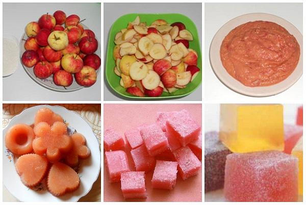 Рецепты мармелада из яблок в домашних условиях