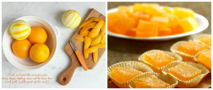 мармелад из желатина и апелсинового сока домашние рецепты
