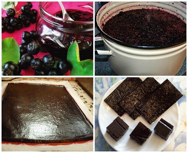 мармелад из черноплодной рябины рецепт